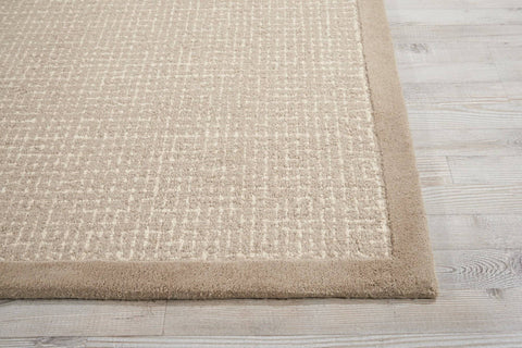 Image of Kathy Ireland River Brook Taupe/Ivory Area Rug RUGSANDROOMS