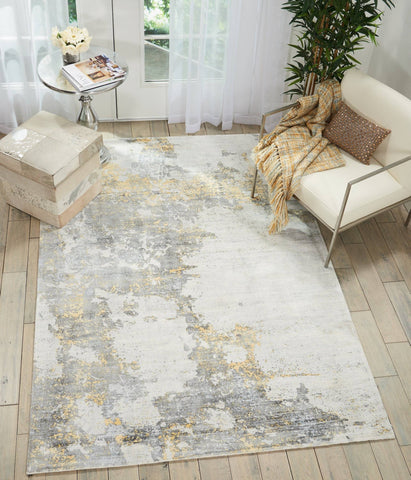 Image of Kathy Ireland Safari Dreams Ivory/Gold Area Rug RUGSANDROOMS