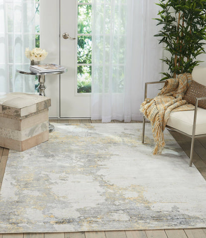 Kathy Ireland Safari Dreams Ivory/Gold Area Rug RUGSANDROOMS