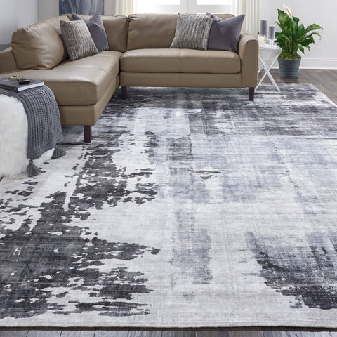 Image of Kathy Ireland Safari Dreams Grey Area Rug RUGSANDROOMS