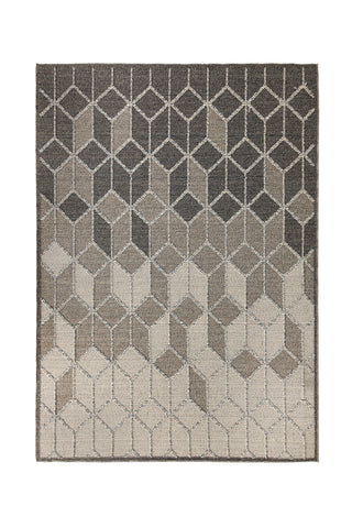 Image of Avery Grey / Cream Area Rug
