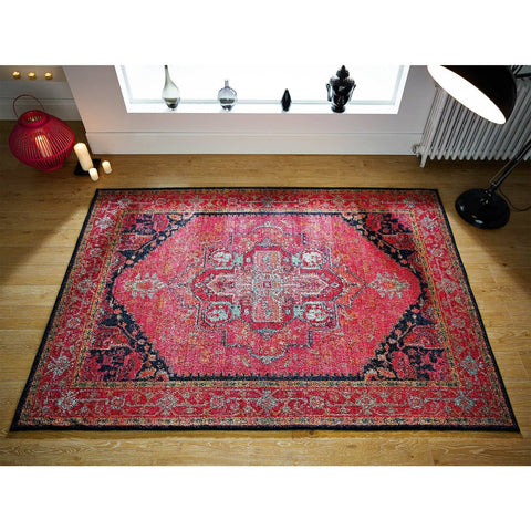 Kali Pink Area Rug RUGSANDROOMS