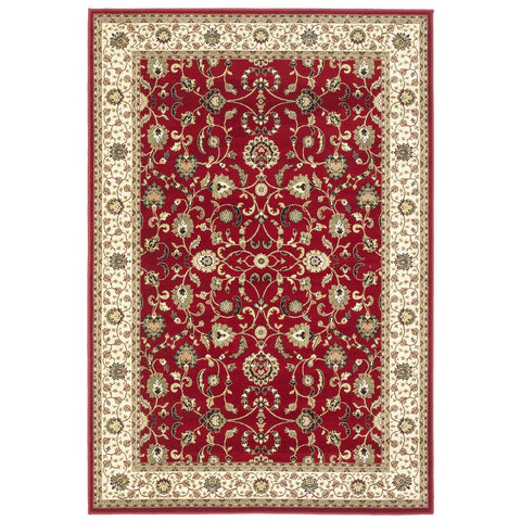 Kendra Red Area Rug RUGSANDROOMS