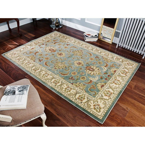Image of Kena Green Area Rug RUGSANDROOMS
