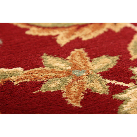 Image of Kena Red Area Rug RUGSANDROOMS