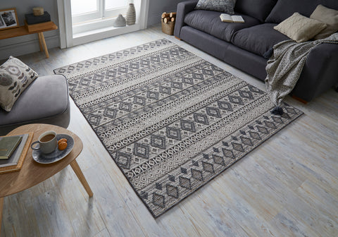 Madison Grey / Cream Area Rug