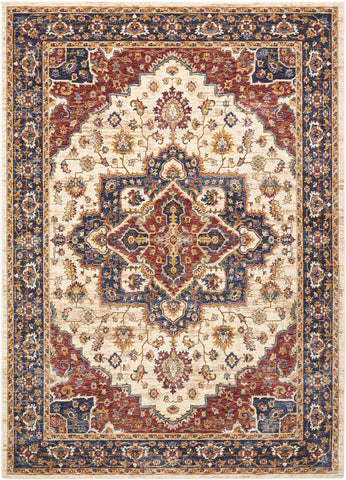 Image of Liberty Cream Area Rug RUGSANDROOMS