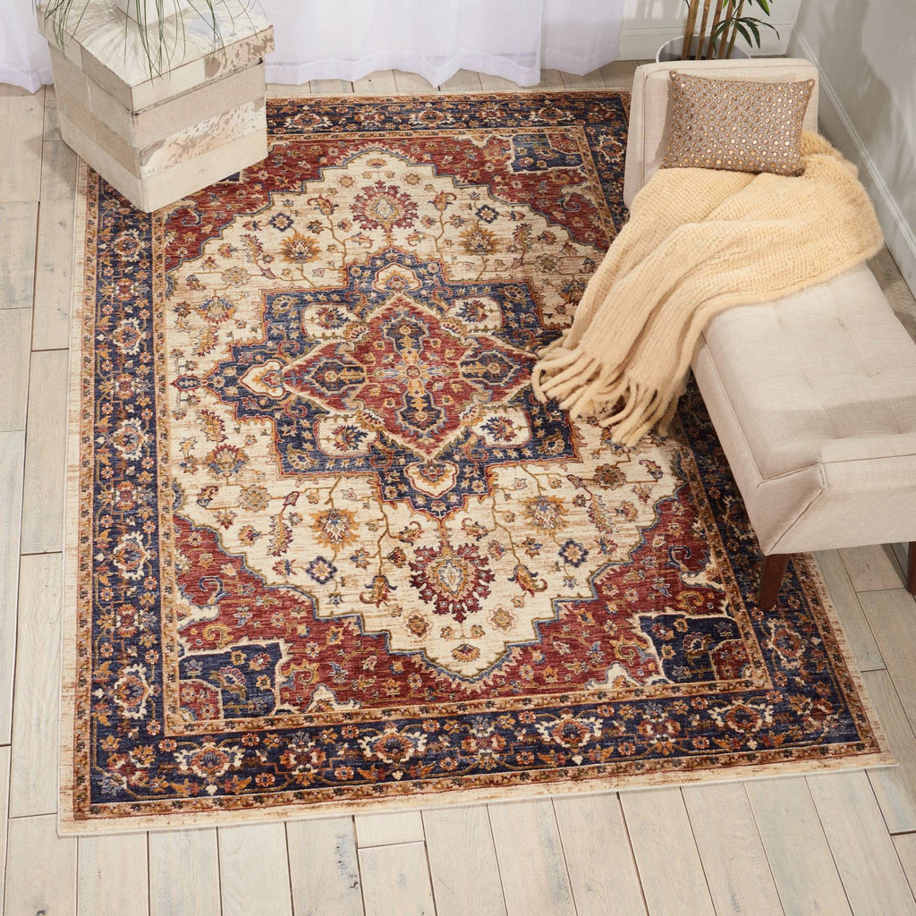 Liberty Cream Area Rug RUGSANDROOMS