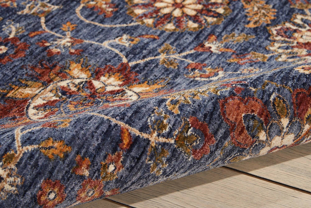 Nourison Blue Area Rug RUGSANDROOMS