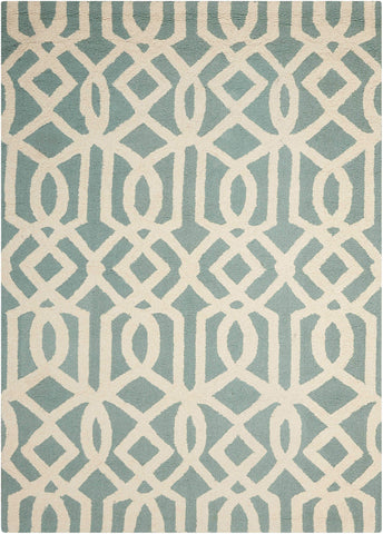 Image of Gian Aqua/Ivory Area Rug RUGSANDROOMS