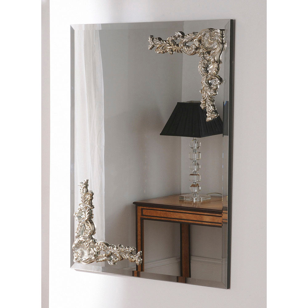 Double Carved Mirror