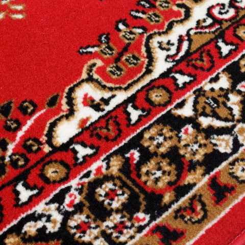 Image of Yuri Red Area Rug RUGSANDROOMS