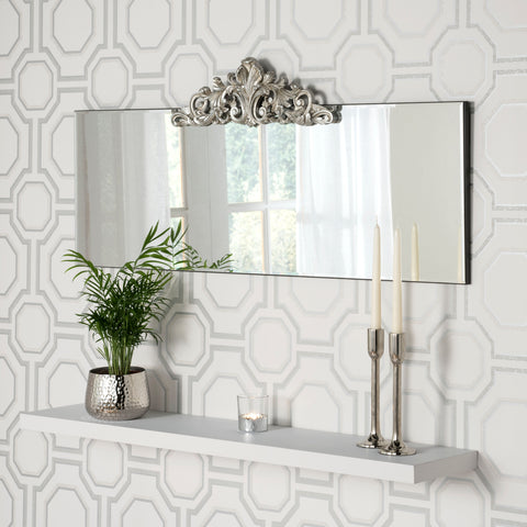 Amber Mantel Mirror