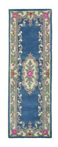 Image of Lavinia Blue Area Rug RUGSANDROOMS