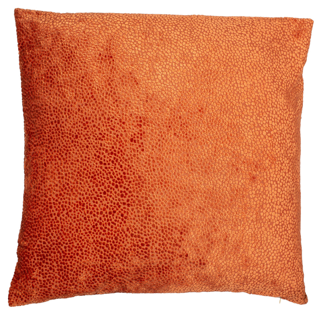 Malini Large Bingham Orange Cushion