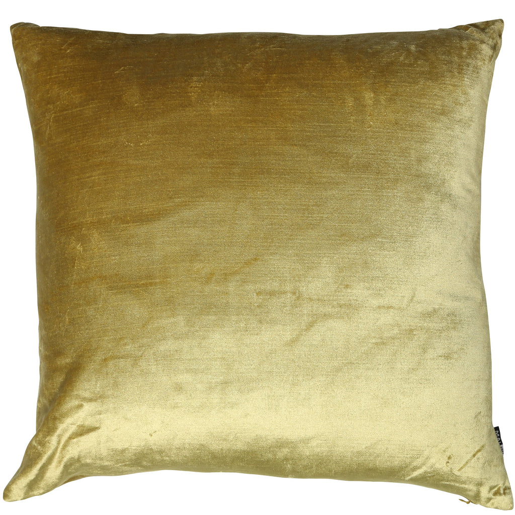 Malini Velveteen Acidgreen Cushion