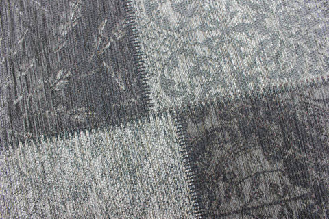 Image of Manhattan Black/Grey Area Rug RUGSANDROOMS