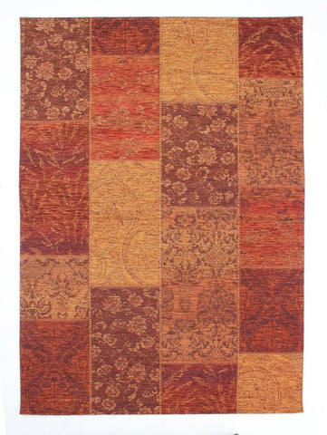 Image of Manhattan Terracotta Area Rug RUGSANDROOMS