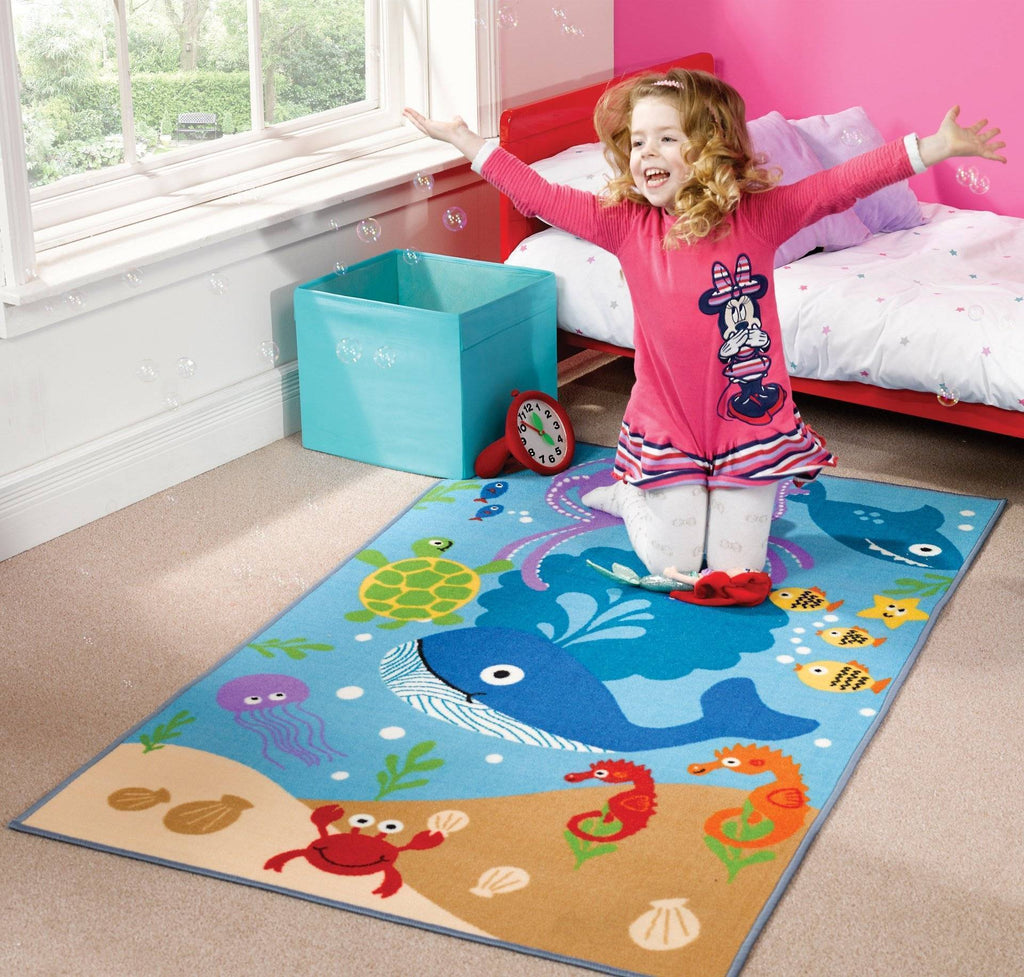 Under The Sea Kids Rug RUGSANDROOMS