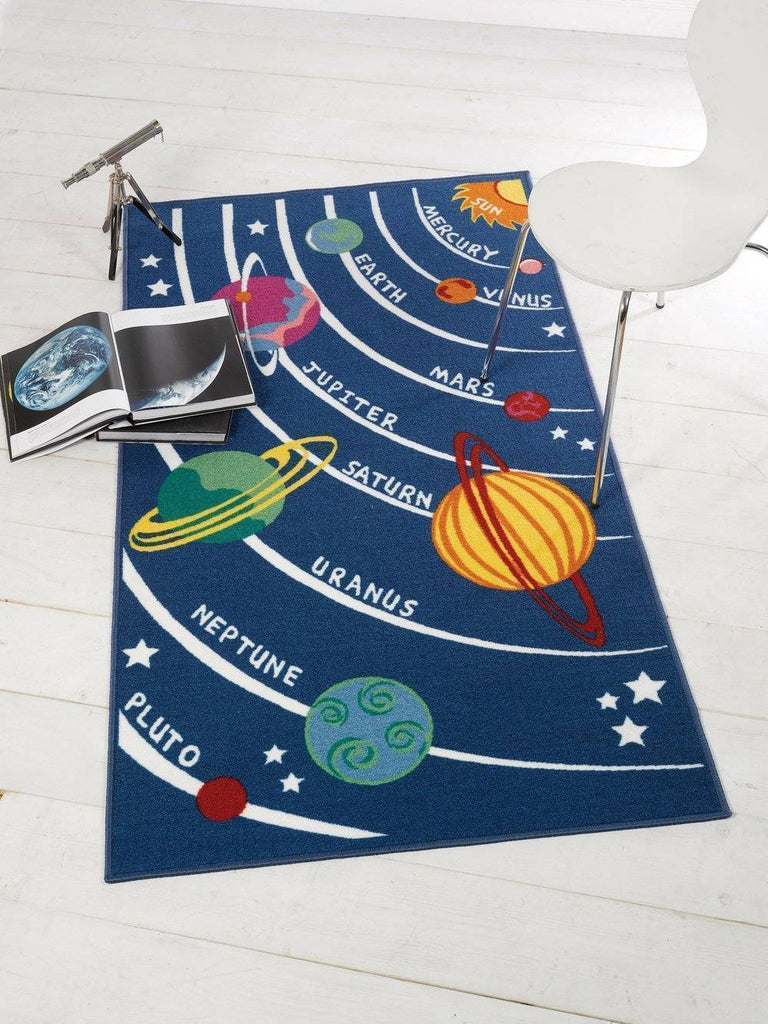 Planets Kids Rug RUGSANDROOMS
