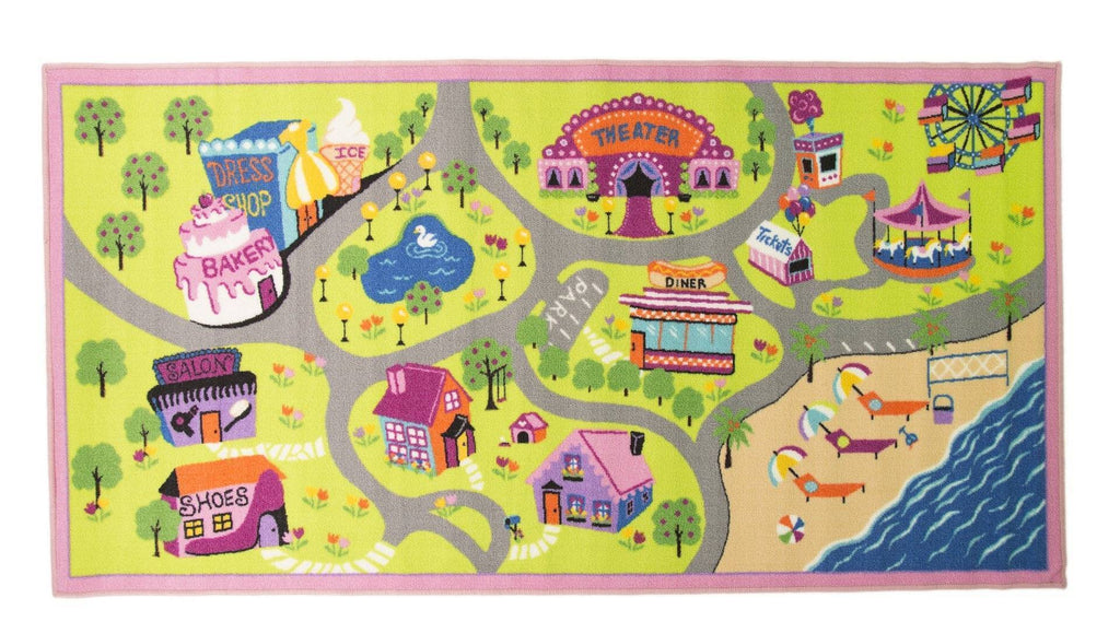 Girls World Kids Rug RUGSANDROOMS
