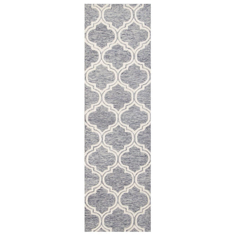 Image of Dina Grey Area Rug RUGSANDROOMS
