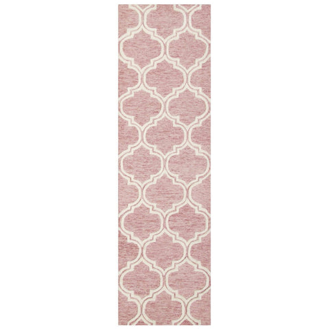 Image of Dina Pink Area Rug RUGSANDROOMS