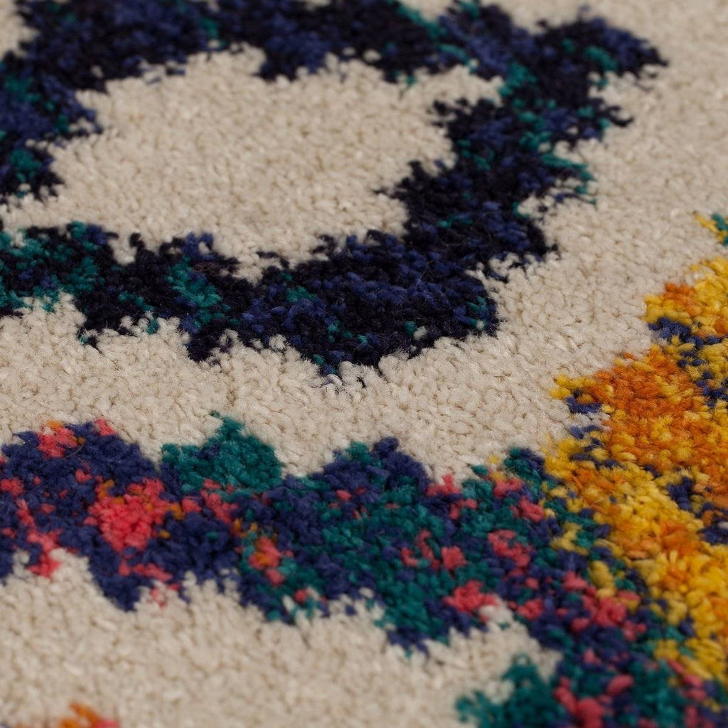 Madison Multi Coloured Area Rug RUGSANDROOMS