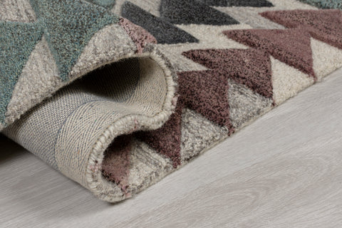 Image of Multi Coloured Autumn Area Rug