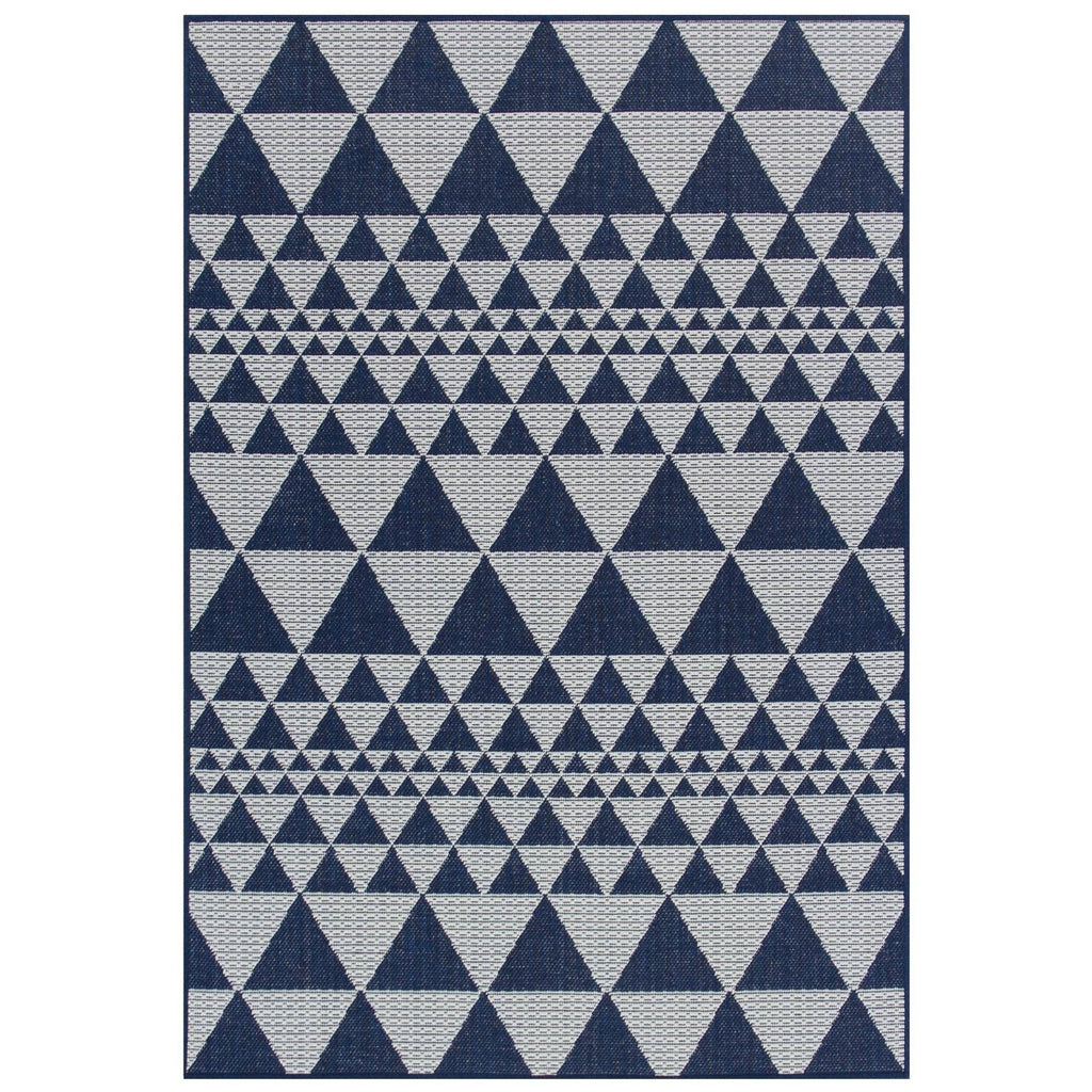 Mona Prism Blue Area Rug RUGSANDROOMS