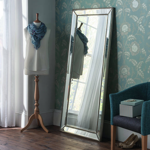 Monaco Glass Accent Mirror RUGSANDROOMS