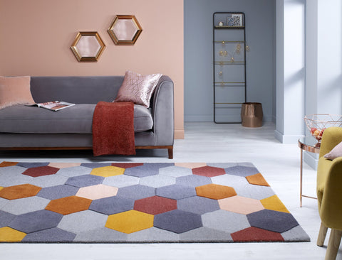 Ryder Rust Multi Area Rug