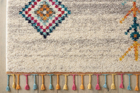 Image of Mena Cream/Grey Area Rug RUGSANDROOMS