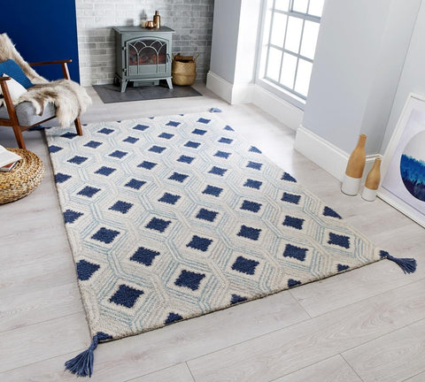 Allison Blue Area Rug