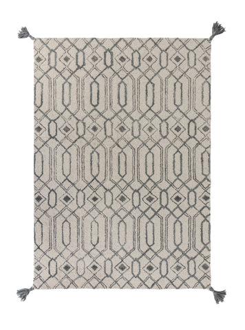 Image of Vinni Grey Area Rug