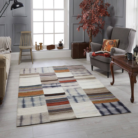 Image of Nava Grey Area Rug RUGSANDROOMS