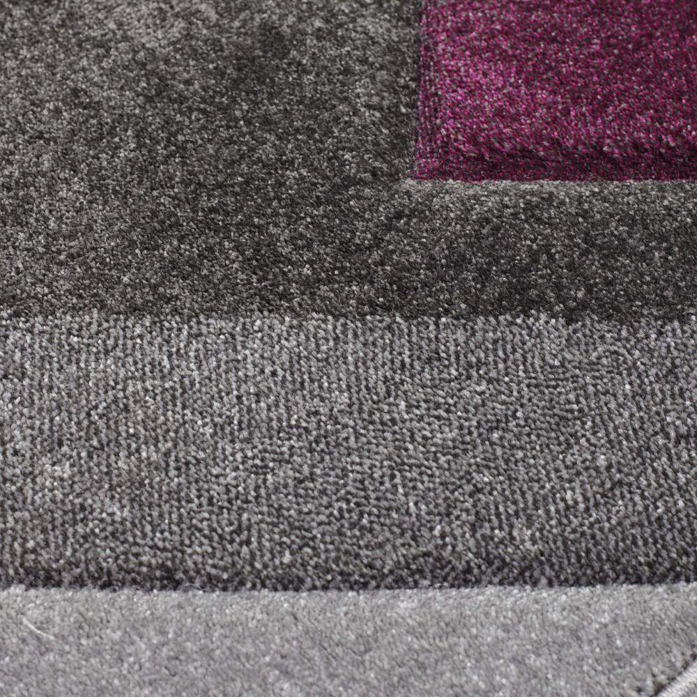 Nimi Grey/Purple Area Rug RUGSANDROOMS