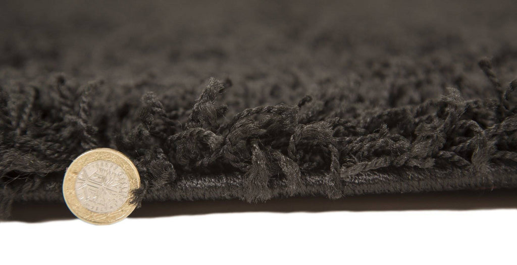Norma Soft Black Area Rug RUGSANDROOMS