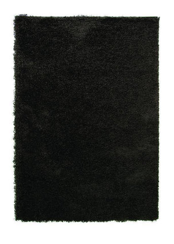 Image of Norma Soft Black Area Rug RUGSANDROOMS