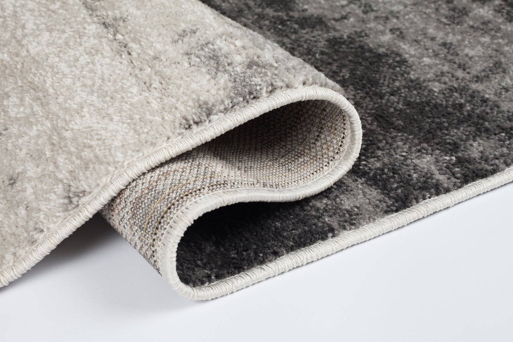 Ombre Grey Area Rug RUGSANDROOMS