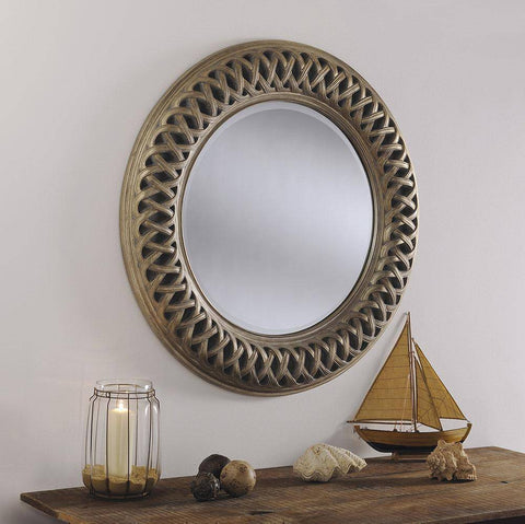 Image of Gia Accent Mirror gagandeepstore