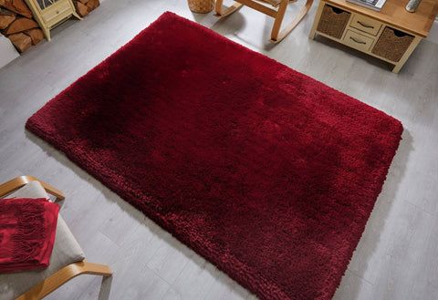 Image of Neval Claret Area Rug RUGSANDROOMS