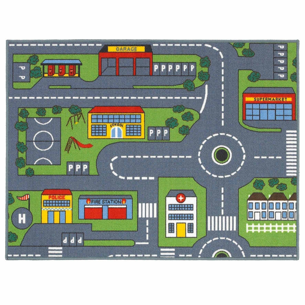 Road Map Kids Rug RUGSANDROOMS