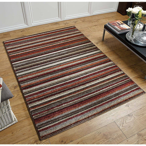 Image of Portland Multi-Coloured Area Rug RUGSANDROOMS
