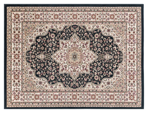 Image of Josie Black Area Rug RUGSANDROOMS