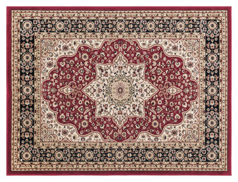 Josie Red Area Rug RUGSANDROOMS