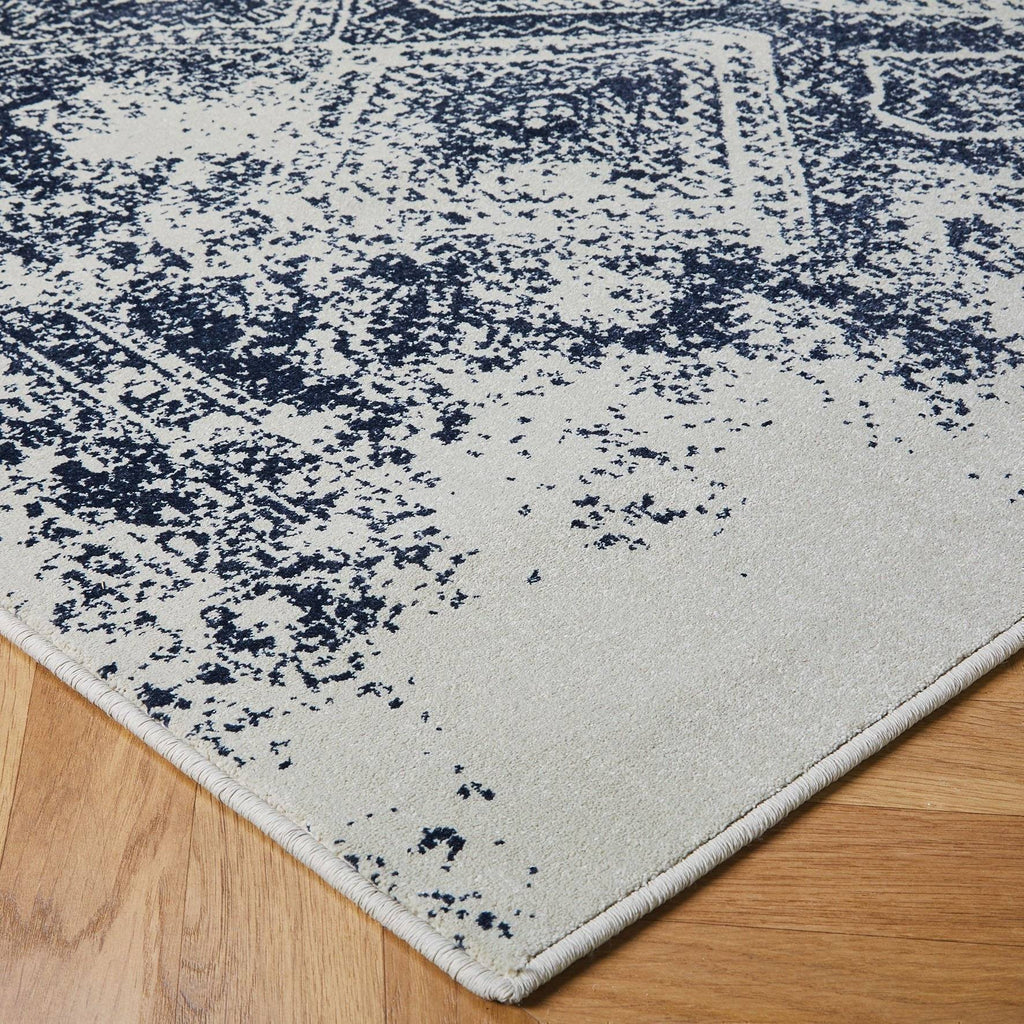 Hampton Blue Area Rug RUGSANDROOMS