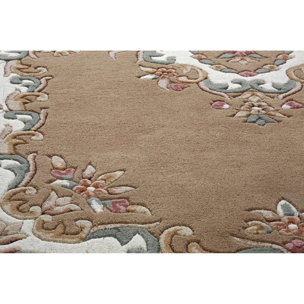 Royal Beige Area Rug RUGSANDROOMS