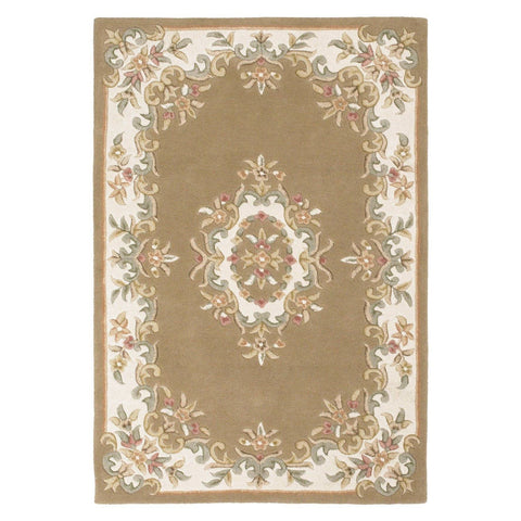 Image of Royal Beige Area Rug RUGSANDROOMS