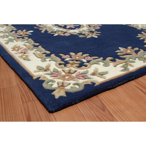 Image of Royal Blue Area Rug RUGSANDROOMS